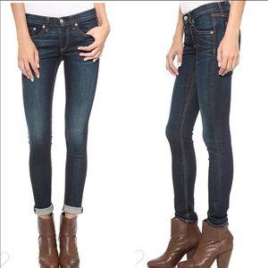 RAG & BONE Skinny Jeans Kensington Dark Wash 28